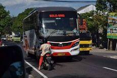 Begini Cara Menghindari Kecelakaan Saat Jumpa Bus Ngeblong