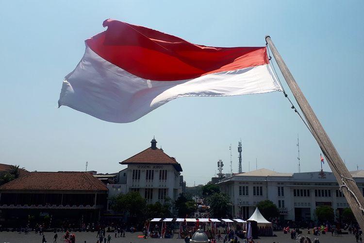 Museum Sejarah Jakarta di Jalan Taman Fatahillah, Jakarta Barat, Minggu (18/8/2019).