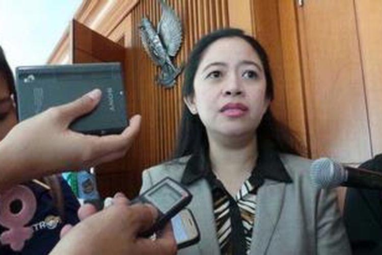Ketua Fraksi PDI Perjuangan Puan Maharani.