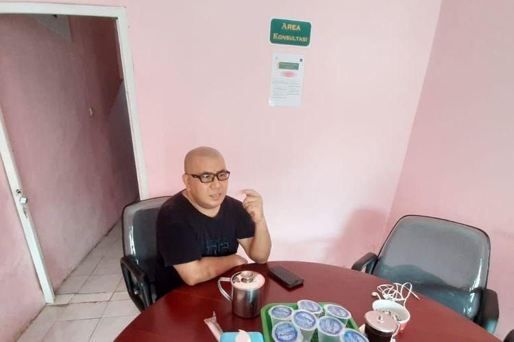 Agustinus Jeneo saat berbincang dengan Kompas.com, Minggu (15/11/2020)