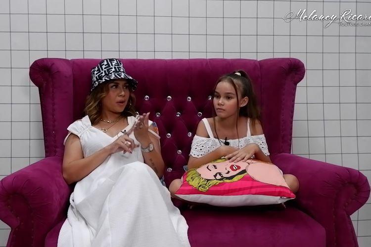 Melaney Ricardo dan putrinya, Chloe Valentine Lynch