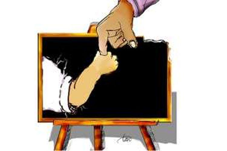 Ilustrasi pendidikan usia dini dan pengasuhan anak
