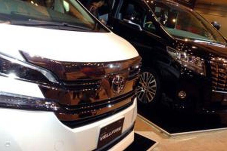 Dua andalan baru Toyota di segmen MPV premium mulai dipasarkan.