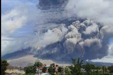 Fakta Erupsi Gunung Sinabung, Semburkan Abu 500 Meter hingga Imbauan BPBD