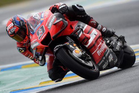 Ganggu Dovizioso pada Kualifikasi MotoGP Aragon, Petrucci Kena Semprot Bos Ducati