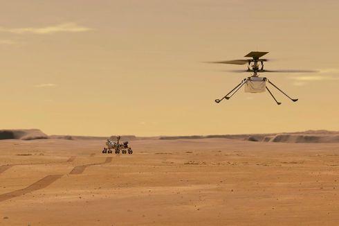 Sukses Terbang di Mars, Misi Helikopter NASA Diperpanjang Sebulan