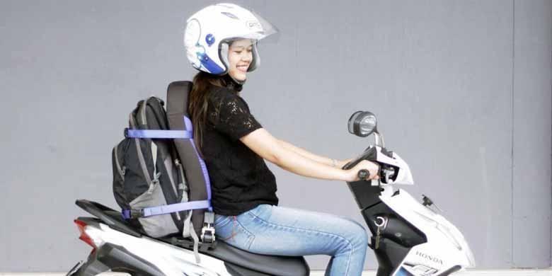 Sandaran biker, inovasi dari industri rumahan asal Yogyakarta, Ziva Seater
