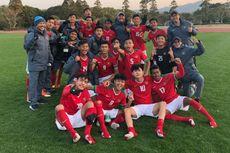 Timnas U-16 Indonesia Kalahkan Jepang dan Lolos ke Final