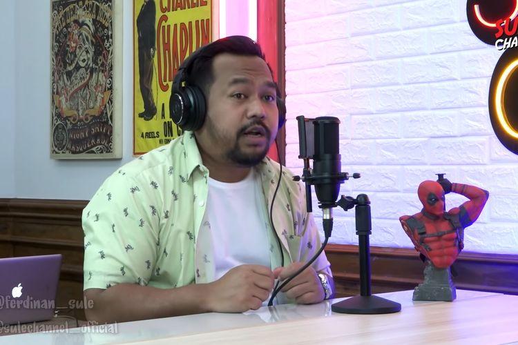 Bedu saat menjadi bintang tamu di Sulpod (Sule Podcast)