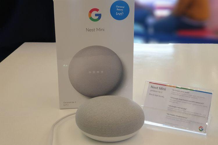 Speaker pintar Google Nest Mini resmi masuk Indonesia dengan harga Rp 925.000.
