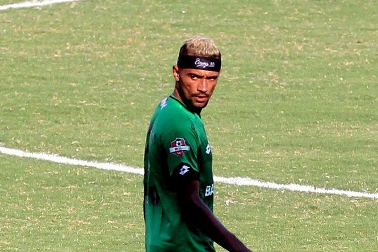 Pemain asing baru Madura United, Bruno Matos.