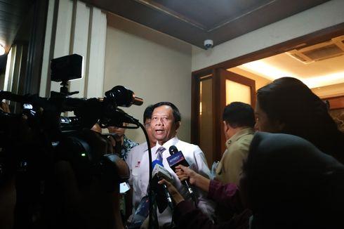 Menko Polhukam: Penangkapan Komisioner KPU Tak Ganggu Pilkada 2020