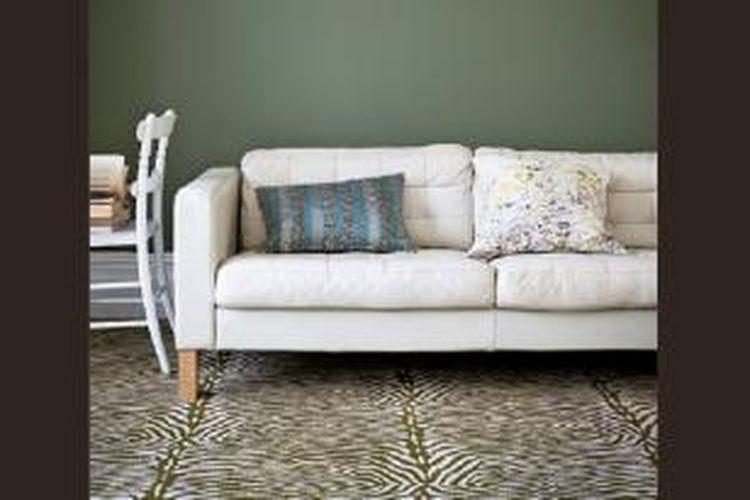 Karpet motif kulit binatang semakin digandrungi dunia desain.