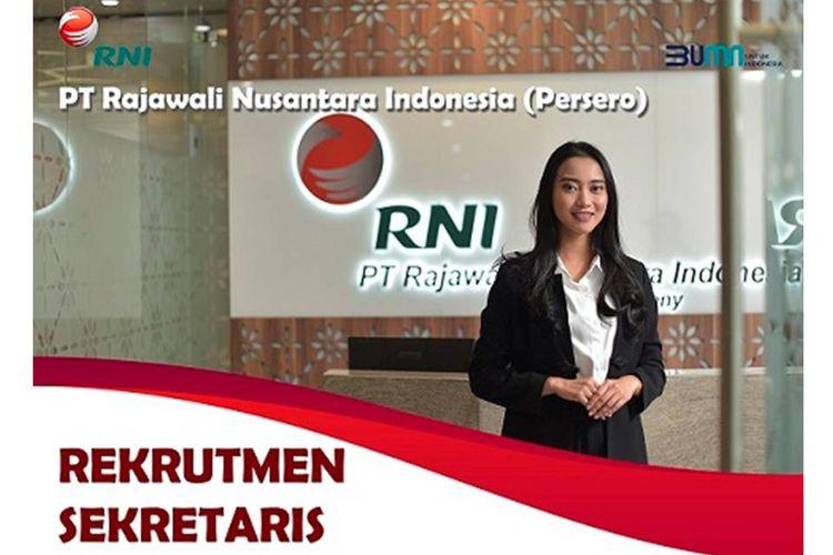 Lowongan pekerjaan di BUMN PT RNI.