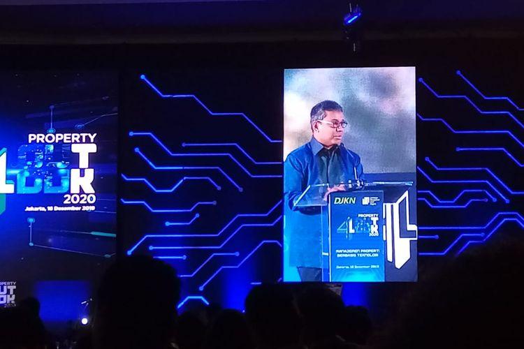 Wakil Menteri Keuangan RI Suahasil Nazara dalam gelaran Property Outlook 2020 di Jakarta, Rabu (18/12/2019).