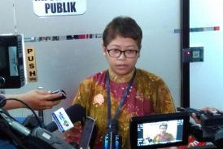 Pelaksana harian Kepala Biro Humas KPK Yuyuk Andriati