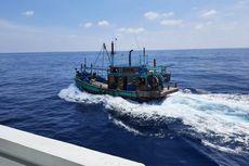Sempat Kelabui Petugas, 1 Kapal Pencuri Ikan Asal Malaysia Ditangkap KKP