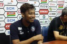 Jadi Pemain Terbaik Piala Presiden, Hamka Hamzah Ingin Jadi Contoh