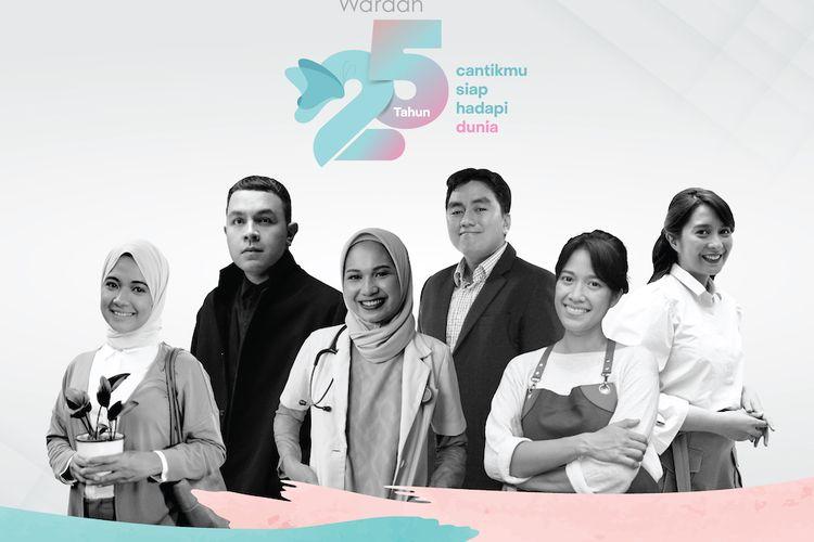 Wardah memulai perayaan 25 tahunnya dengan meluncurkan kampanye Cantikmu Siap Hadapi Dunia.