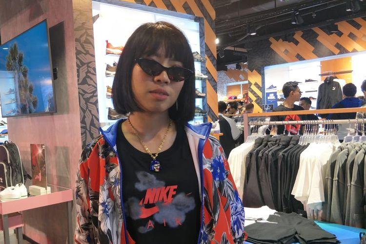 RamenGvrl saat ditemui di Grand Indonesia, Jakarta Pusat, Jumat (15/3/2019).