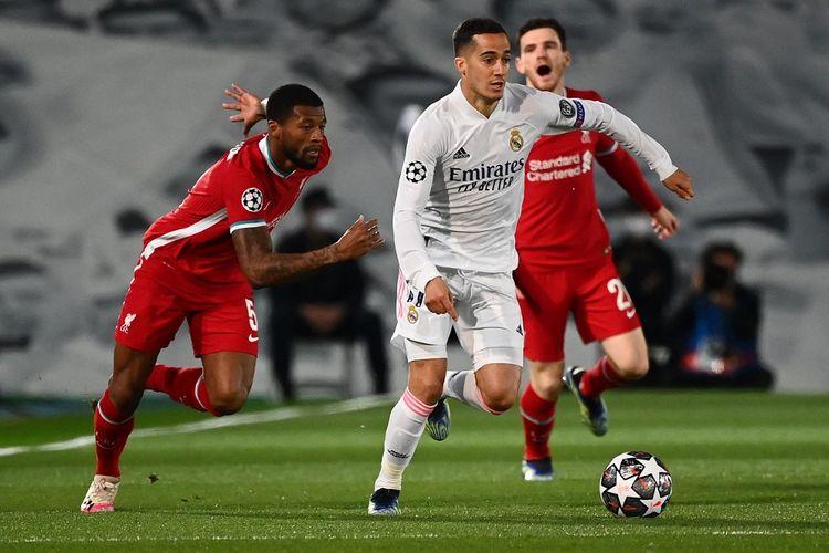 Kapten Liverpool, Georginio Wijnaldum, mengakui ia dan rekan-rekannya tak bermain cukup bagus saat The Reds tumbang 1-3 di leg pertama babak perempat final Liga Champions, Rabu (7/4/2021) dini hari WIB.