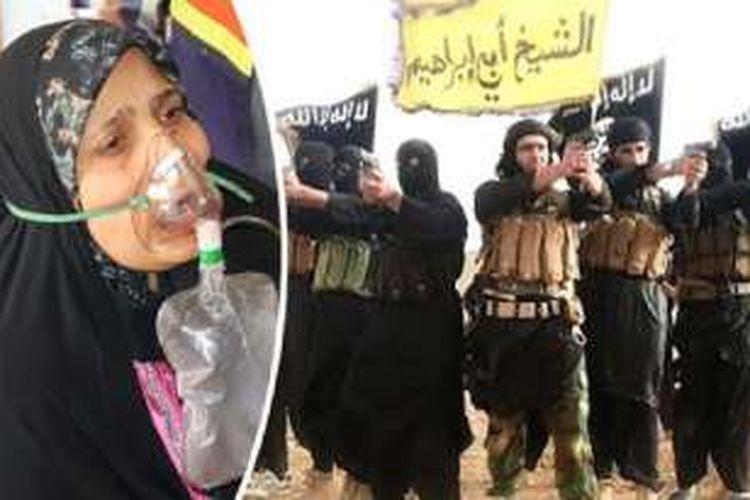 ISIS sedang melakukan uji coba senjata kimia pada tahanan dan hewan.