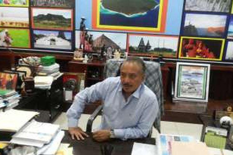 Ketua Federasi Sepak Bola Timor Leste atau FFTL, Fransisco Kalbuadi Lay saat ditemui di Dili, Timor Leste, Minggu (11/12/2016).