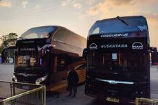 Ini Bus Tingkat Baru PO Nusantara, Conqueror