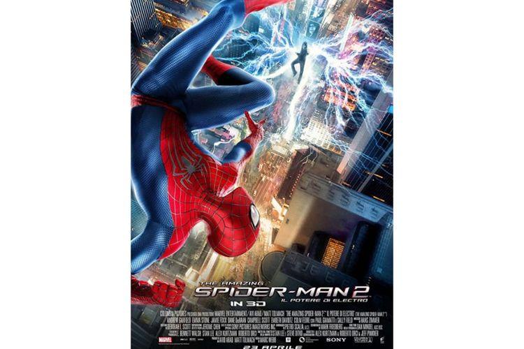 The Amazing spiderman 2 : Rise of Electro adalah kelanjutan dari seri The Amazing Spiderman I yang dibintangi oleh Andrew Garfield dan Emma Stone