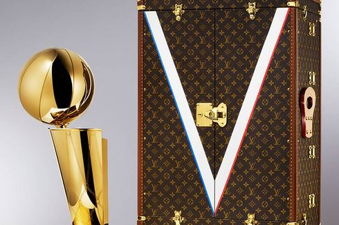 Louis Vuitton Mengenalkan Travel Case untuk Trofi NBA