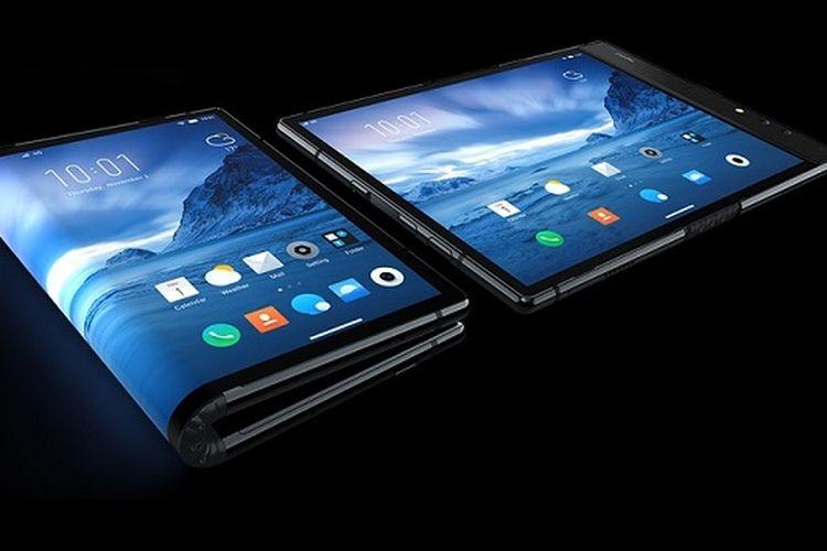 Smartphone lipat Royole Flexpai