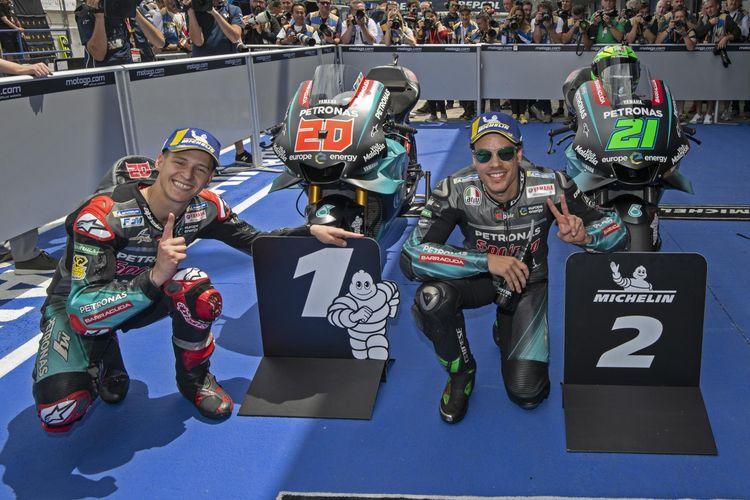 Tim satelit Yamaha meraih hasil terbaik di kualifikasi GP Jerez 2019.