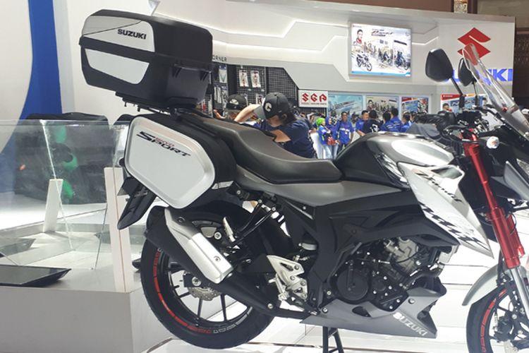 Suzuki Bandit bergaya Sport Touring dengan ABS