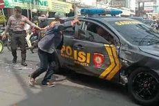 Tengah Kawal Tahanan, Mobil Polisi Ditabrak Truk hingga Ringsek