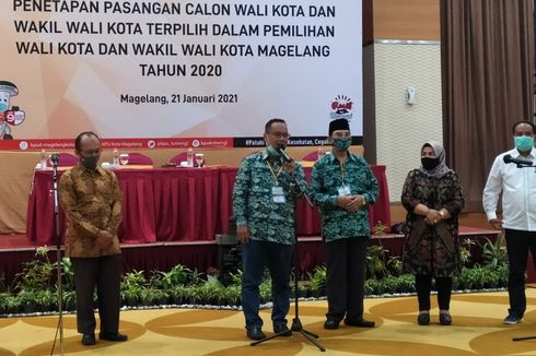 KPU Magelang Tetapkan Nur Aziz-Mansyur Wali Kota dan Wakil Wali Kota Terpilih
