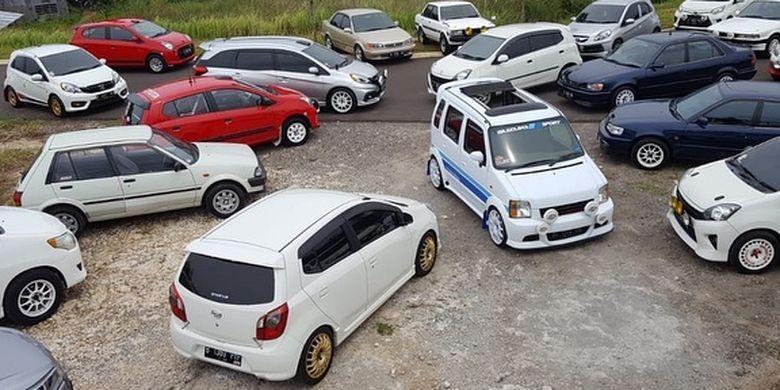 Modifikasi Bertema Rally Look.