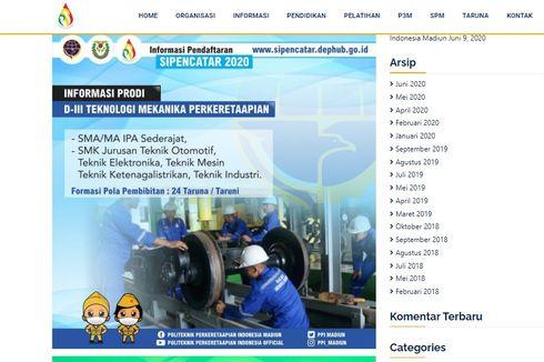 Pendaftaran Politeknik Perkeretaapian Masih Dibuka, Berikut Alur hingga Kuotanya...