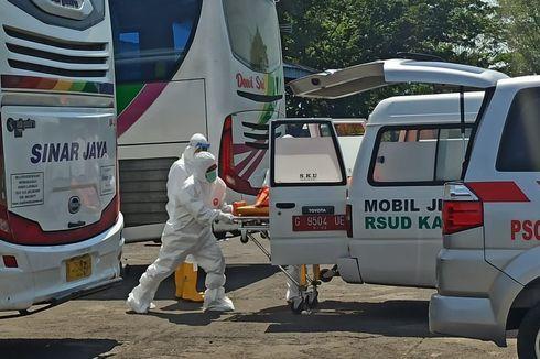 Penumpang Asal Jakarta Meninggal Dalam Bus di Terminal Tegal, Dievakuasi Petugas Berbaju Hazmat