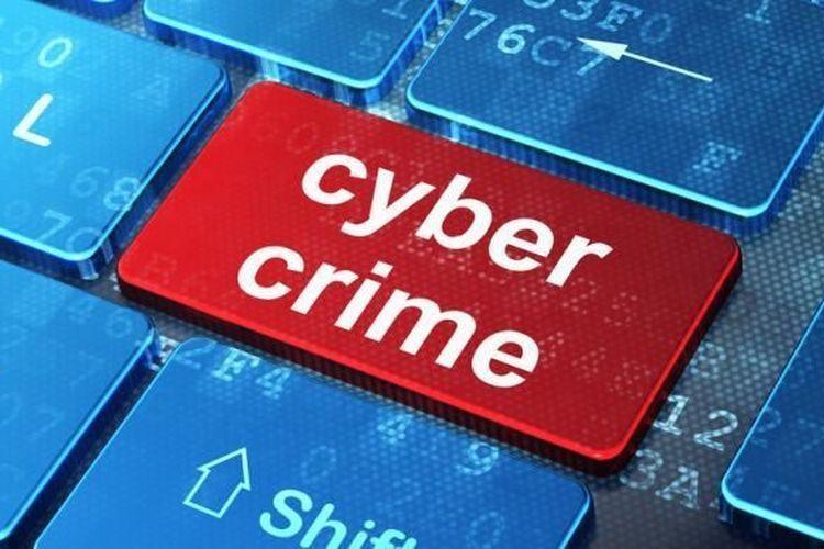 Ilustrasi cyber crime.