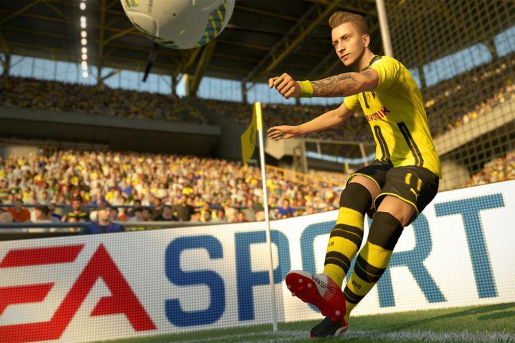 Ilustrasi Marco Leus dalam Game Fifa 2017