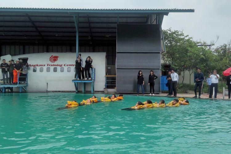 Mengintip Pelatihan Pramugari Lion Air Group Di Lion City Halaman All Kompas Com