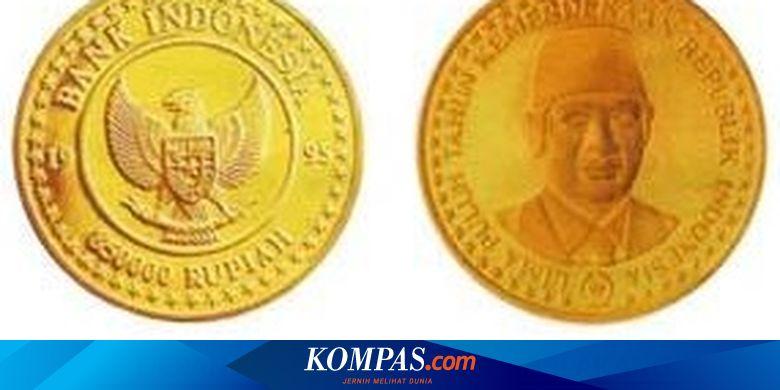 Gambar Uang Koin 500 Rupiah Terbaru Bukan Uang Koin Gambar Sawit Ini Uang Logam Termahal Bank