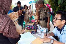 Pemkot Jaktim Gelar Vaksin Rabies Gratis untuk Anjing dan Kucing di Ciracas