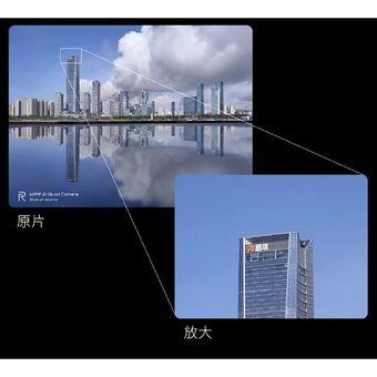 Contoh hasil jepretan kamera megapiksel dari ponsel yang dipamerkan Realme di Weibo.