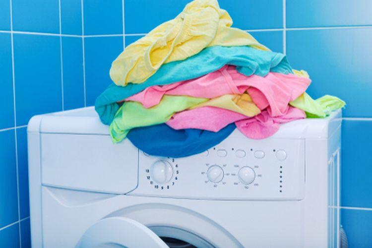 Ilustrasi mesin cuci.