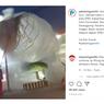 Video Viral Balon Udara Jatuh di Atas Kabel Area SPBU Sragen, Begini Penampakannya