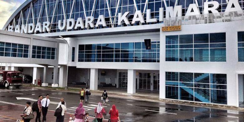 Bandara Kalimarau di Tanjung Redeb, Kabupaten Berau, Kalimantan Timur.
