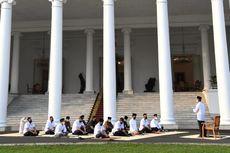 Lebaran, Presiden Jokowi Tak Ditemani Anak, Cucu, dan Menantu