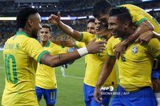 Brasil Vs Kolombia, Neymar Cetak Gol, Tim Samba Bermain Imbang