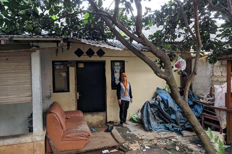 Lokasi Bank Sampah Berdikari, Joglo, Kembangan, Jakarta Barat pada Jumat (12/4/2019)
